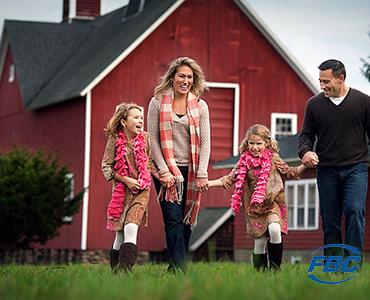 Family on Farm