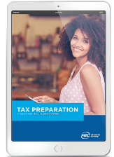 Tax Preparation Toolkit Small Business ipad cover