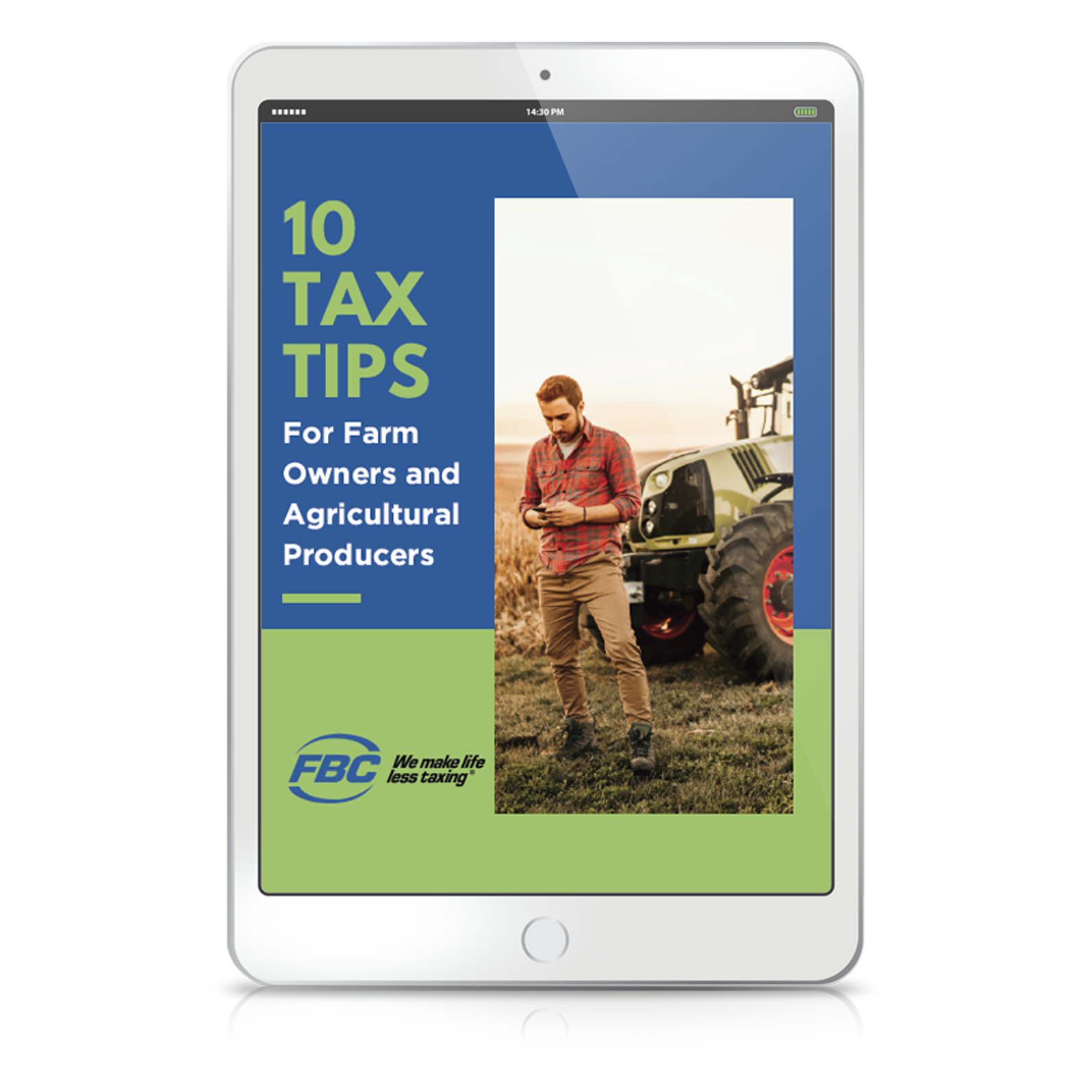 10 Tax Tips Farmers and Agricultural Producers