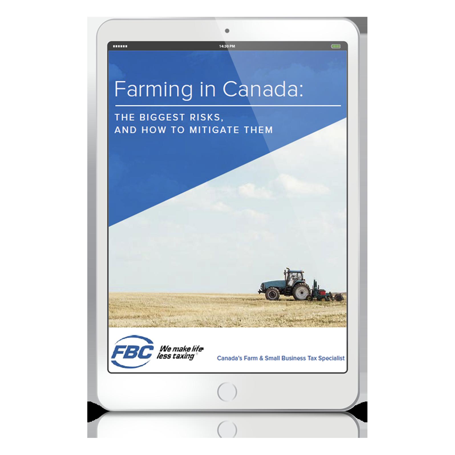 The Biggest Farming Risks in Canada