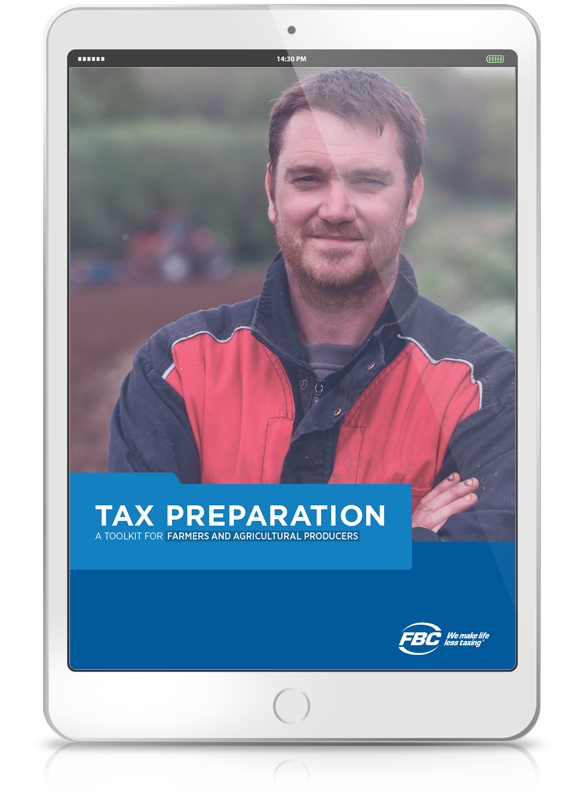 Tax Preparation Toolkit For Farms