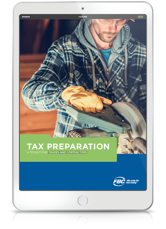 Tax Preparation Toolkit For Contractors