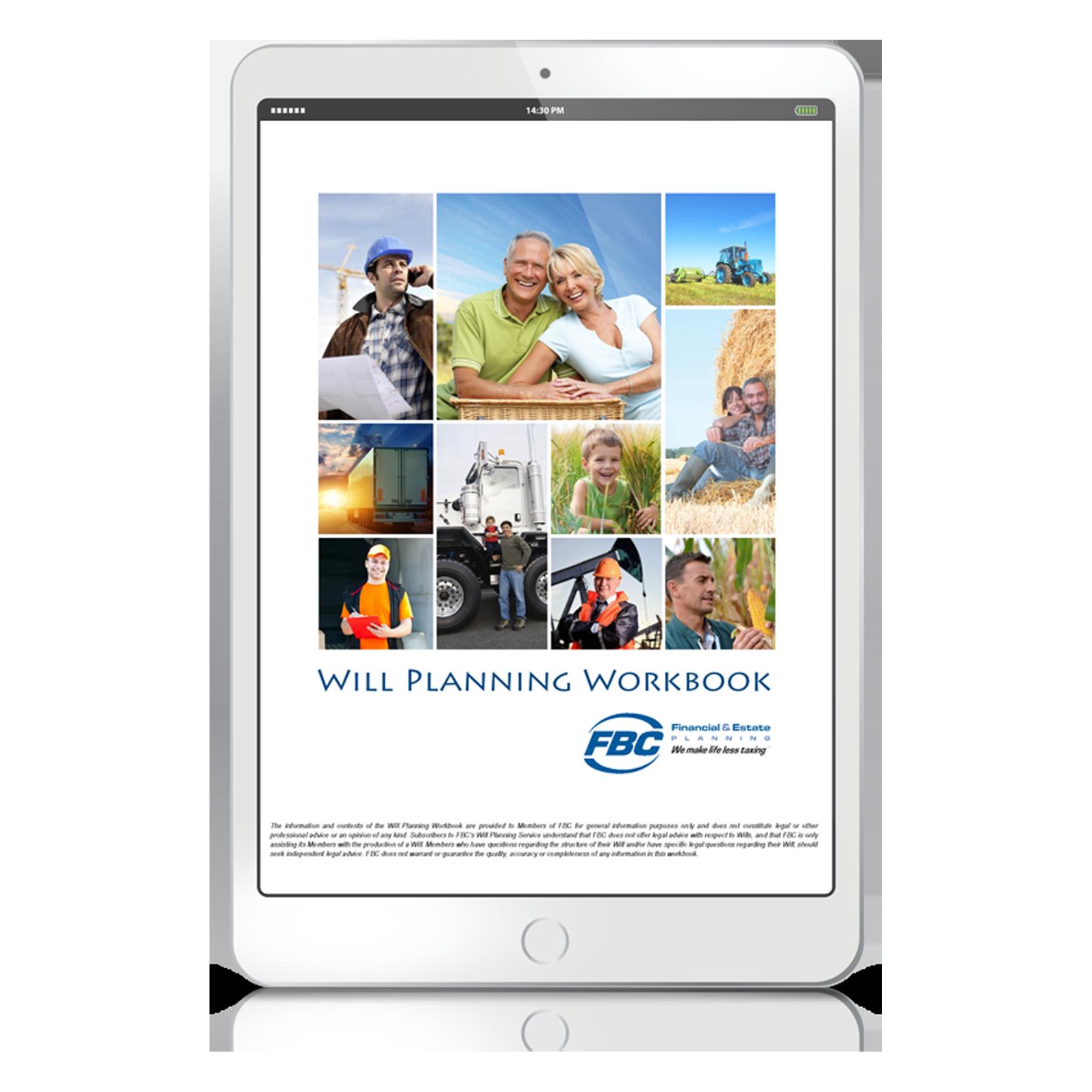 Free Will Planning Workbook